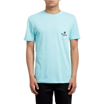 Volcom Pale Aqua Last Resort Blue T-Shirt