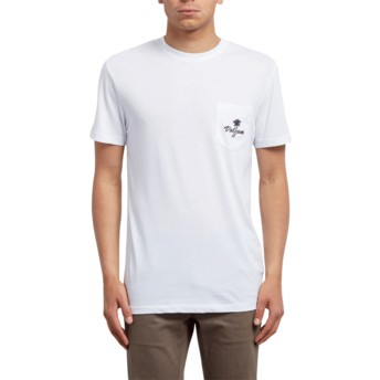 Volcom White Last Resort White T-Shirt