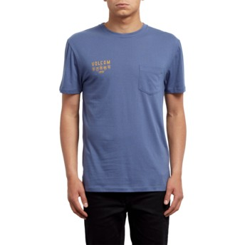 Volcom Deep Blue Hellacin Blue T-Shirt
