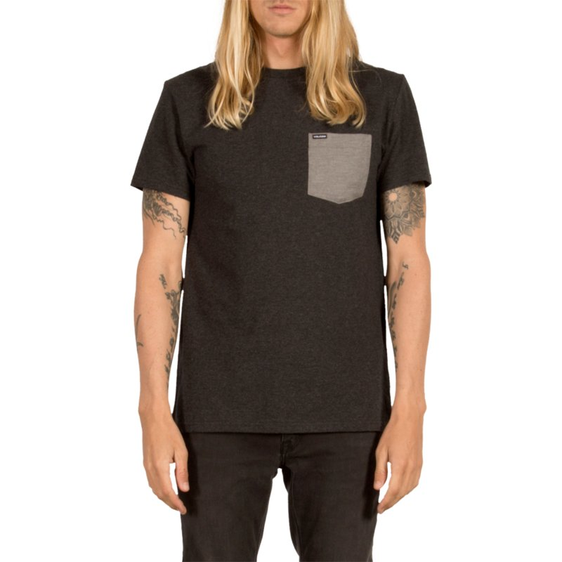 volcom-heather-black-contra-pocket-black-t-shirt