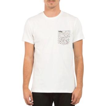 Volcom White Contra Pocket White T-Shirt