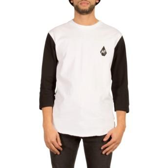 Volcom White Chain Gang White 3/4 Sleeve T-Shirt
