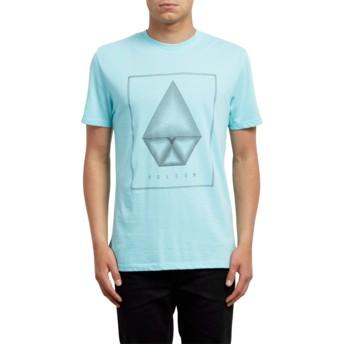 Volcom Pale Aqua Concentric Blue T-Shirt