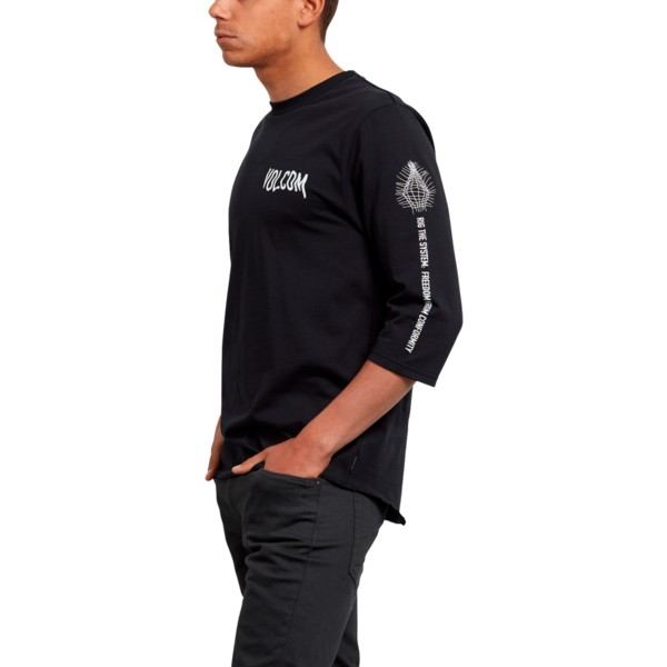 volcom-black-enabler-black-3-4-sleeve-t-shirt