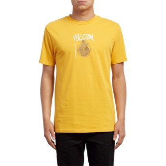 Volcom Tangerine Conformity Yellow T-Shirt