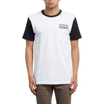 Volcom Black Angular Black and White T-Shirt
