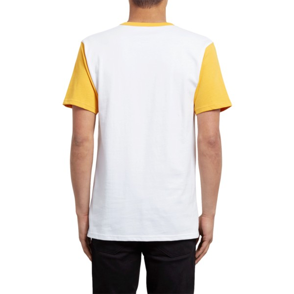 volcom-tangerine-angular-yellow-and-white-t-shirt