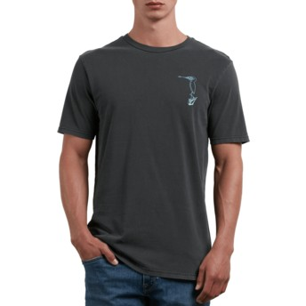 Volcom Black Burch Bird Black T-Shirt