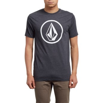 Volcom Heather Black Circle Stone Black T-Shirt