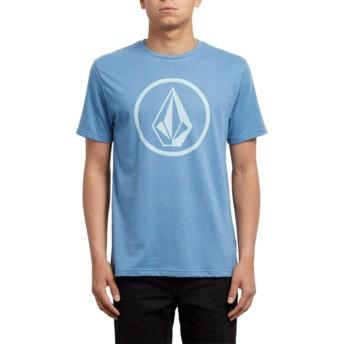 Volcom Wrecked Indigo Circle Stone Blue T-Shirt