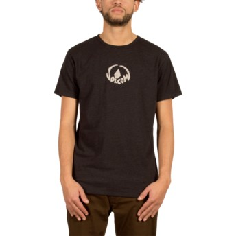 Volcom Heather Black Dark Stone Black T-Shirt