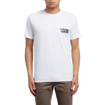 Volcom White Peek A Boo White T-Shirt