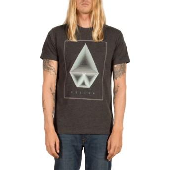 Volcom Heather Black Concentric Black T-Shirt