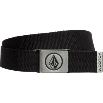 Volcom Black Circle Web Black Belt