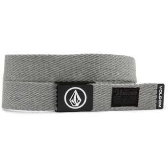 Volcom Heather Grey Circle Web Grey Belt