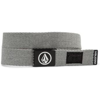 Volcom Heather Grey Circle Web Grey Belt