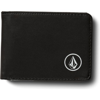 Volcom Black Corps Black Wallet