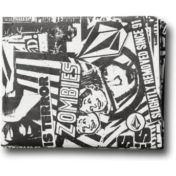 Volcom Black Spinner Pap Black Wallet