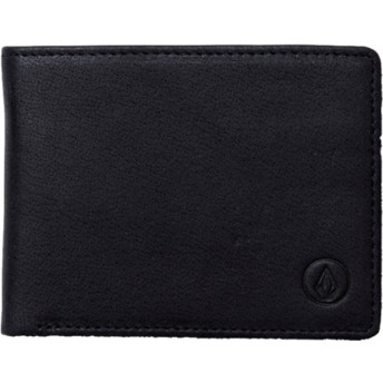 Volcom Black Volcom Leather Black Wallet