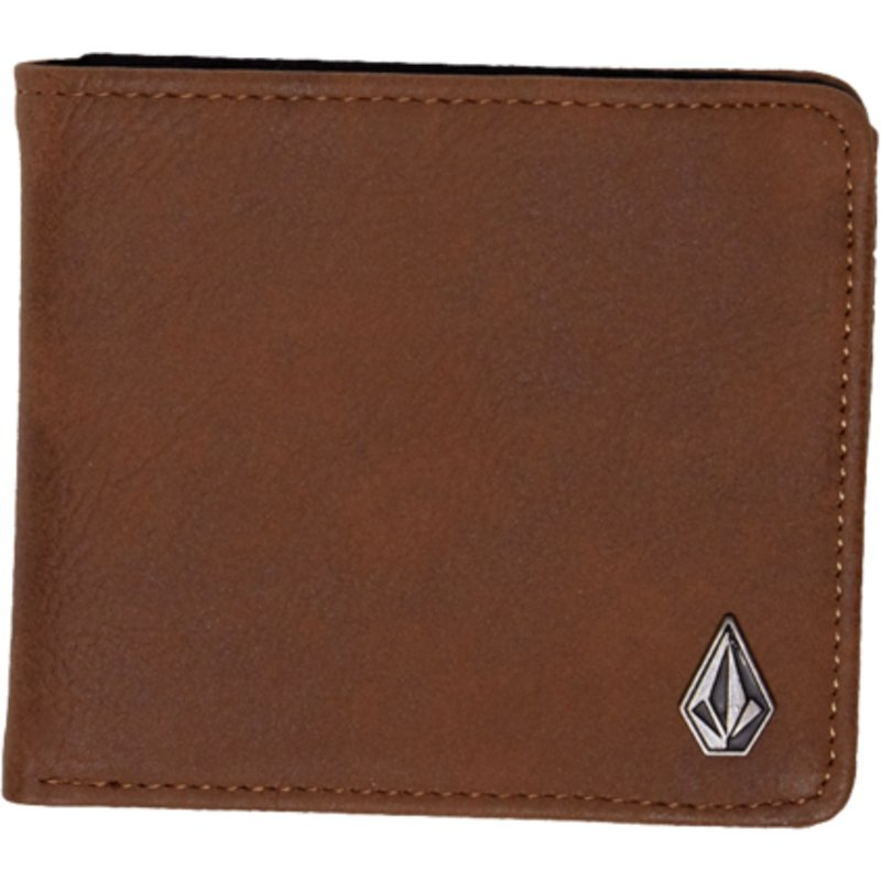 197e90738 Volcom Brown Slim Stone Brown Wallet: Shop Online at Caphunters