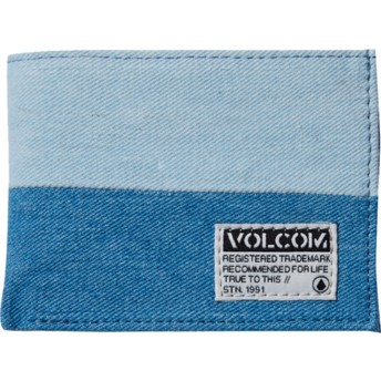 Volcom Indigo Ecliptic Cloth Blue Wallet