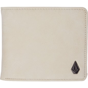 Volcom Dirty White Slim Stone White Wallet