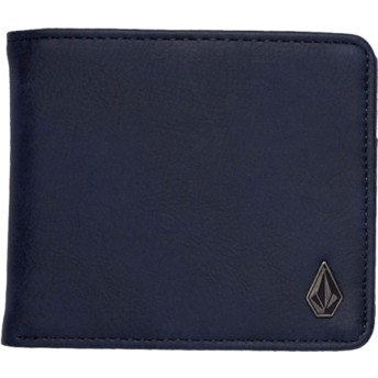 Volcom Midnight Blue Slim Stone Navy Blue Wallet