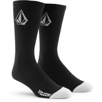 Volcom Black Full Stone Black Socks