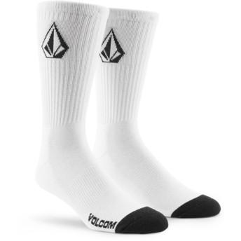 Volcom White Full Stone White Socks