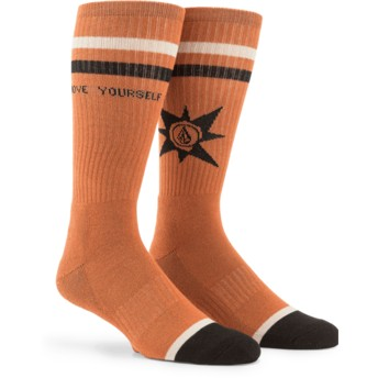 Volcom Hazelnut A.P. Brown Socks