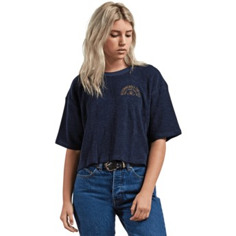 Volcom Sea Navy Recommended 4 Me Navy Blue T-Shirt