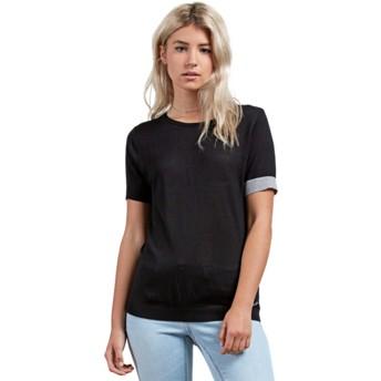 Volcom Black Simply Stone Black T-Shirt