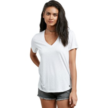 Volcom White Mix A Lot White T-Shirt