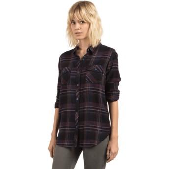 Volcom Black Desert Fly Black Long Sleeve Shirt