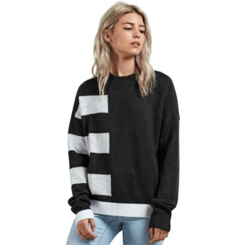 Volcom Black Cold Band Black Sweater