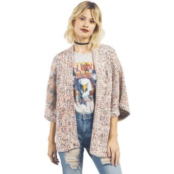 Volcom Multi Kokamo Kimono Multicolor Sweater