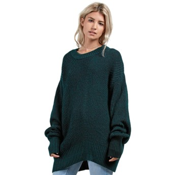 Volcom Evergreen Stormy Green Sweater