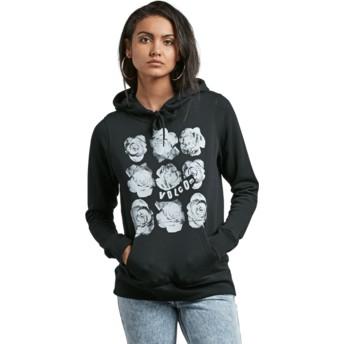 Volcom Black Stone Hoody Black Hoodie Sweatshirt