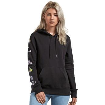 Volcom Black Stone Hoodie Black Hoodie Sweatshirt
