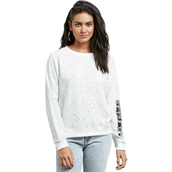 Volcom Star White Mix A Lot White Sweatshirt