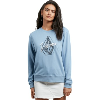 Volcom Washed Blue Sound Check Blue Sweatshirt