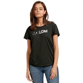 Volcom Black Easy Babe Rad 2 Black T-Shirt