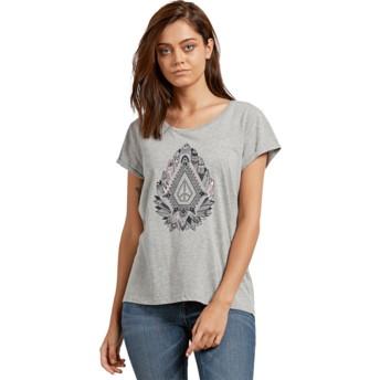 Volcom Feathers Heather Grey Radical Daze Grey T-Shirt