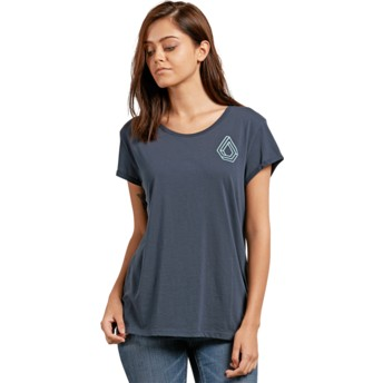 Volcom Sea Navy Radical Daze Navy Blue T-Shirt