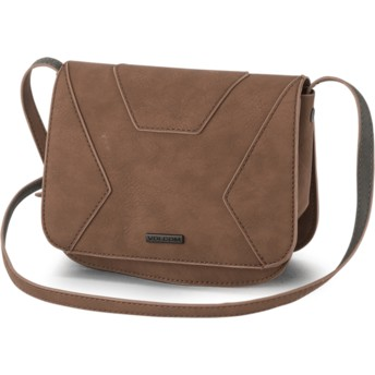 Volcom Brown Volni Brown Cross Body Handbag