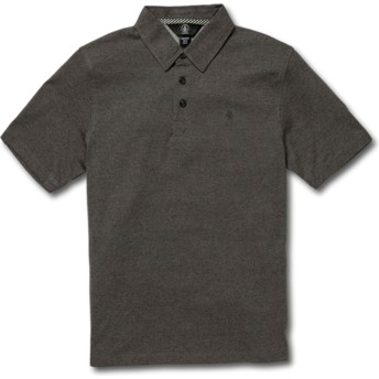 Volcom Youth Stealth Wowzer Black Polo