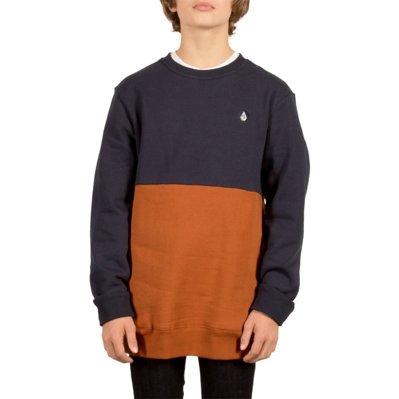 volcom-youth-copper-single-stone-division-brown-and-navy-blue-sweatshirt