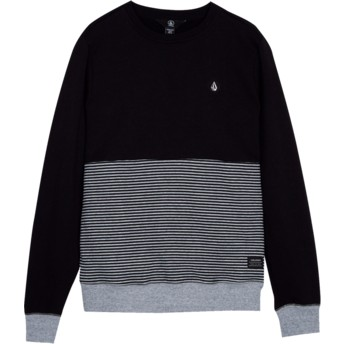 Volcom Youth Black Threezy Black Sweatshirt