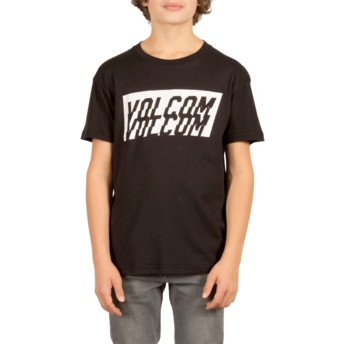Volcom Youth Black Chopper Black T-Shirt