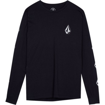 Volcom Youth Black Deadly Stone Black Long Sleeve T-Shirt